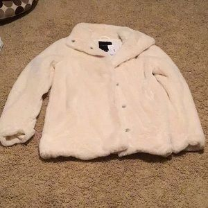 NWT Maurice's faux fur coat